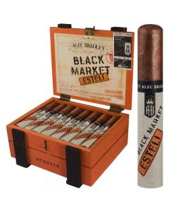 Alec Bradley Black Market Esteli Robusto Box of 22
