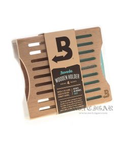 Boveda Wooden Holder For Humidor: Holds 4 Boveda 60 Gram