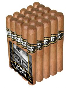 Factory Smokes Shade by Drew Estate Toro Bundle of 25