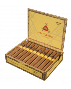 MONTECRISTO CLASSIC COLLECTION TORO & LIGHTER  Box of 25