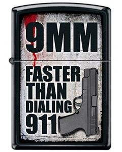 ZIPPO 9MM IS FASTER THAN 911